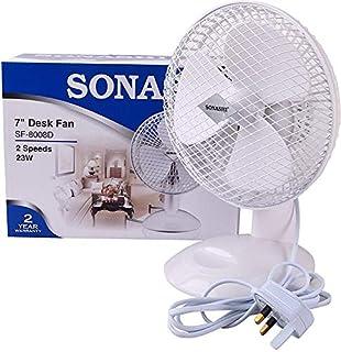Sonashi 7 Inch Desk Fan - SF 8008D
