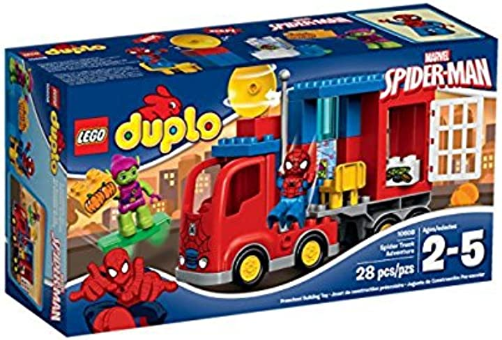 L`avventura del camion-ragno di spider-man lego duplo super heroes 10608
