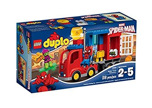 lego duplo uomo ragno LEGO Duplo Super Heroes 10608 L'Avventura del Camion-ragno di Spider-Man