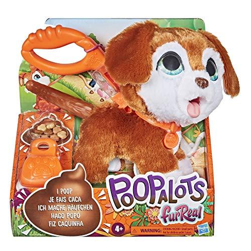 furReal Poopalots Große Racker interaktives Spielzeugtier, Verbindungssystem, ab 4 Jahren