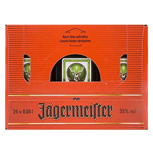 Jägermeister 35% - 24 x 40 ml