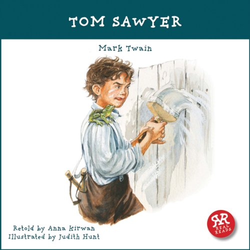 Tom Sawyer audiobook cover art