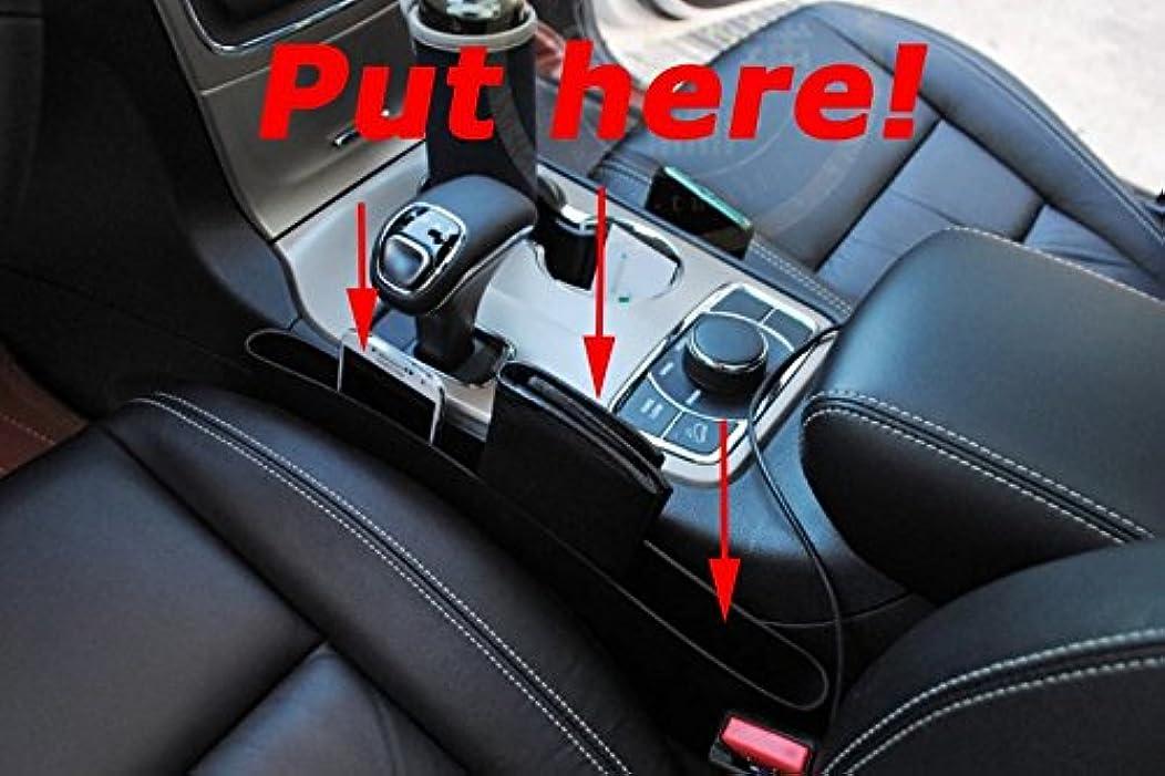 Nicebee 2pcs Car Seat Filler Space Padding Crack Cover Leak Stop Storage Box Organizer For Jeep Grand Cherokee 2014-2016