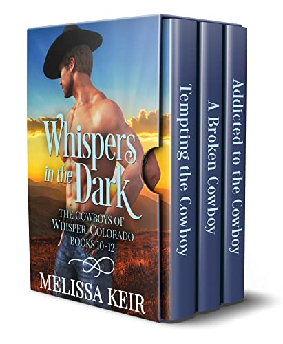 Whispers in the Dark: The Cowboys of Whisper, Colorado: Books 10-12 (English Edition)