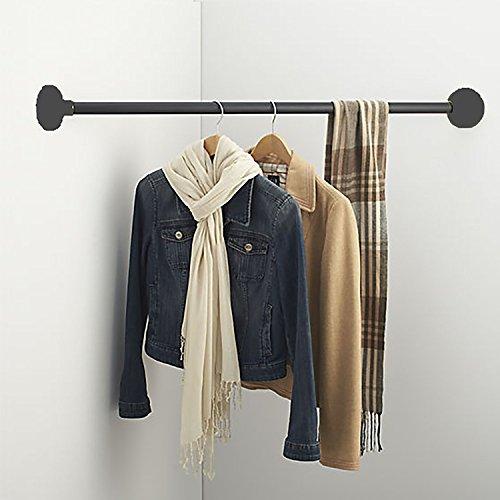 Hanging Bars 43' Iron Wardrobe Assistant Corner