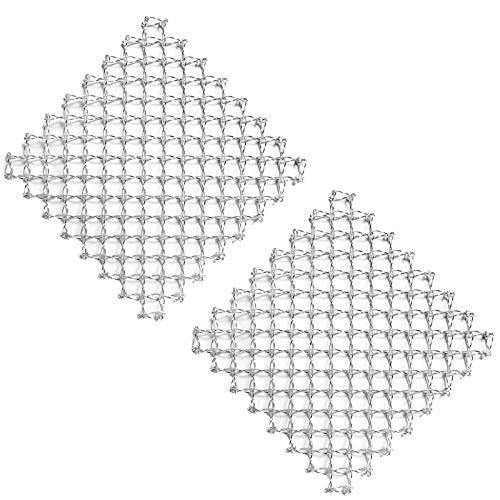 SIDCO Topfuntersetzer 2X Metall Untersetzer Spiraltopfuntersetzer Topfgitter Untersatz