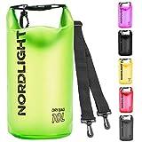 Nordlight Bolsa Seca de 2 l y 10 l – Bolsa Impermeable para móvil y Caja de Seguridad para la...