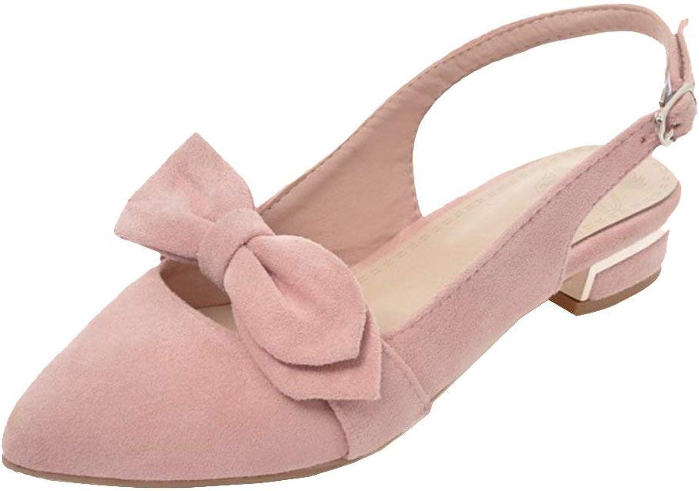 Unm Women's Pointed Toe Sandlas Pumps shoes