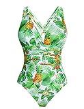 Aibrou Costume Intero Donna Mare Trikini Tankini Costume da Bagno Swimwear One Piece