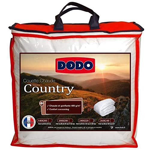 DODO Couette chaude 400g COUNTRY 220x240cm