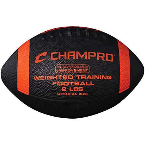 Champro - Lizensierte Footballs in schwarz, Größe Offcial/2-Pound