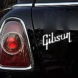 15cm×9.4cmギブソン米国ギターデカールステッカーレスポール車のラップトップギターケースおかしいカースタイリンググラフィックス