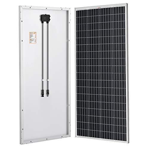 RICH SOLAR 200 Watt 24 Volt Moncrystalline Solar Panel High Efficiency Solar Module for RV Trailer Camper Marine Off Grid