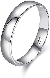 خاتم فضة 925 للسيدات من أبروفنس سيمبل مقاس 5 أزواج إلى 11 خواتم كبيرة للرجال والنساء
