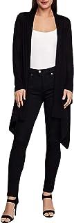 BCBG Max Azria Womens Kattianne Silk Multi-Way Cardigan Sweater