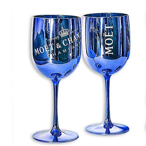 Moët & Chandon Ice Imperial Champagnerglas - Kunststoff (Blue, 2)