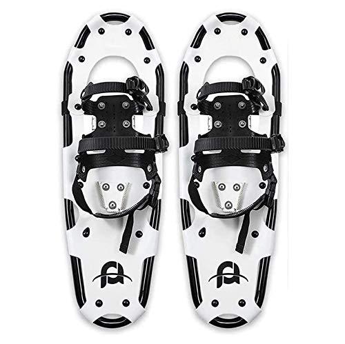 TYUIOO Clases de hielo de la tracción, empuñaduras de nieve con hielo Peso ligero Raquetas de nieve para mujeres Hombres Jóvenes niños, zapatos de nieve de aleación de aleación de aluminio ligero, raq