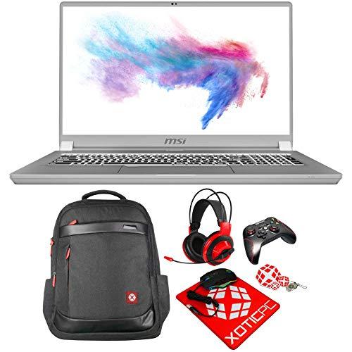 MSI Enthusiast Creator 17 Intel Core i7 10th Gen 10875H (2.30 GHz) 64 GB Memory 1 TB 970 EVO Plus NVMe SSD GeForce RTX 2070 Max-Q 17.3' Windows 10 Pro 64-bit A10SF-257 Gaming Laptop