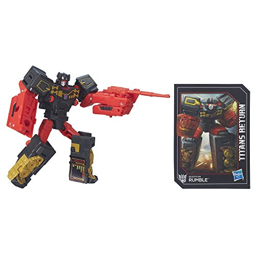 Transformers Generations Titans Return Legends Class Decepticon Rumble(Discontinued by manufacturer)