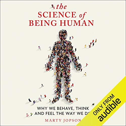 The Science of Being Human audiobook cover art
