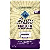Blue Buffalo Basics Limited Ingredient Diet, Natural Senior Dry Dog Food, Turkey & Potato 24-lb