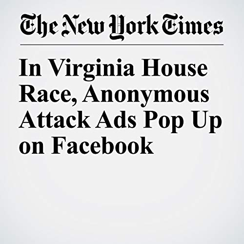 In Virginia House Race, Anonymous Attack Ads Pop Up on Facebook audiobook cover art