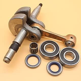 Cigüeñal manivela rodamientos retén de aceite kit para Husqvarna 365371372XP 362Jonsered 20632065207121662171Motor de motosierra partes