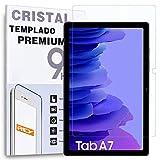 REY Protector de Pantalla para Tablet Samsung Galaxy Tab A7 2020 WIFI-4G 10.4', Cristal Vidrio Templado Premium