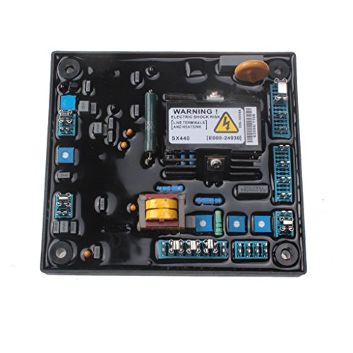 HVACSTAR AVR SX440 Automatic Voltage Regulator Control Moudle for Generator Genset With 1 Year Warranty