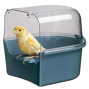 Ferplast Trevi Baignoire pour Oiseaux avec revêtement canari 14 x 15 x 13 cm