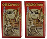 Caffè Batani: Tuscan'Orzo '900' Toasted Ground Barley * 17.64 Ounces (500gr) Packages (Pack of 2) * [ Italian Import ]
