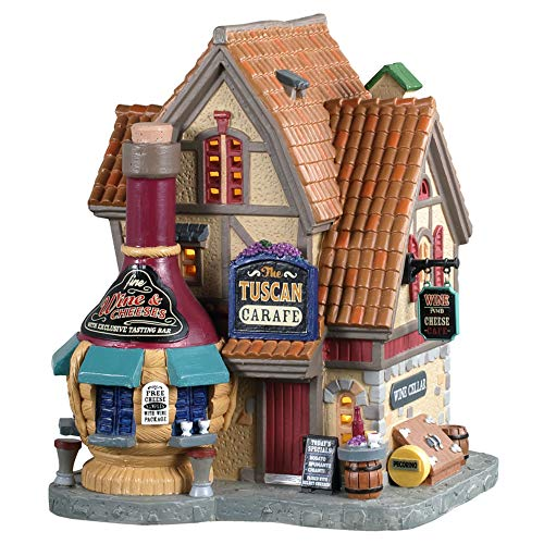 Lemax+05649+The+Tuscan+Carafe+Village+Building%2c+Multicolored