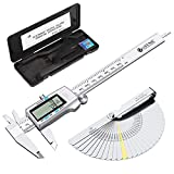 Best Digital Calipers - eSynic 150mm/6Inch Digital Vernier Caliper with Fractions/Inch/Metric Conversion Review