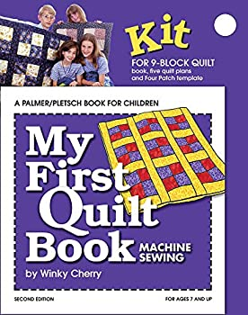 My First Quilt Book KIT  Machine Sewing  My First Sewing Book Kit series