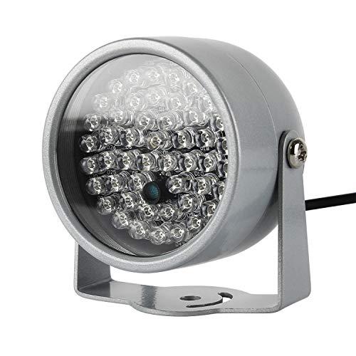 LED IR-Strahler,LED IR Infrarot Diode Scheinwerfer Nachtsicht für Überwachungskamera CCTV 850nm(60°8W Scheinwerfer mit Netzteil)