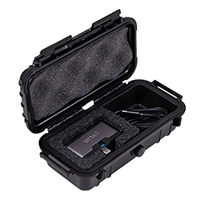 Casematix Waterproof Thermal Imager Case Compatible with Flir 1 Pro Ios , Usb c or Android Ir , Cables and Small Adapters