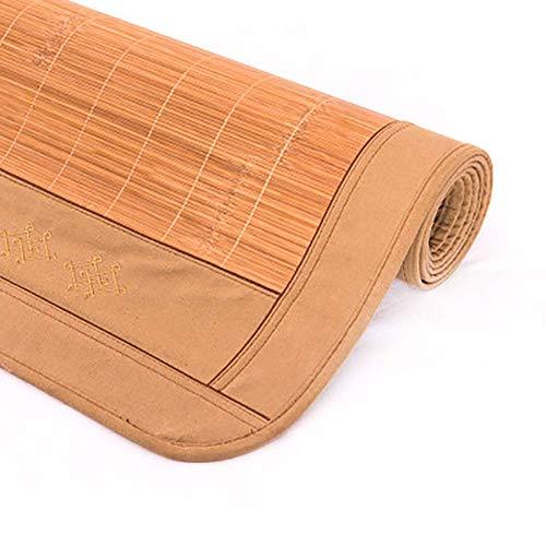 Colchón de bambú para cama, colchón de enfriamiento plegable, colchón de verano para dormir, para dormitorio, sala de estar, piso A 100x190cm (39x75 pulgadas)