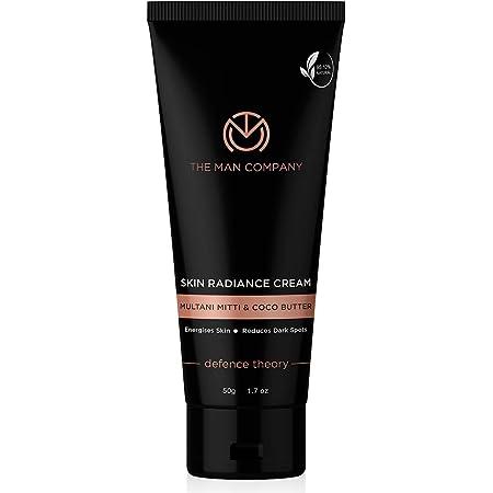 The Man Company De Tan Cream with Multani Mitti, Coco Butter for Tan Removal   Reduces Acne & Blackhead Remover - 50gm