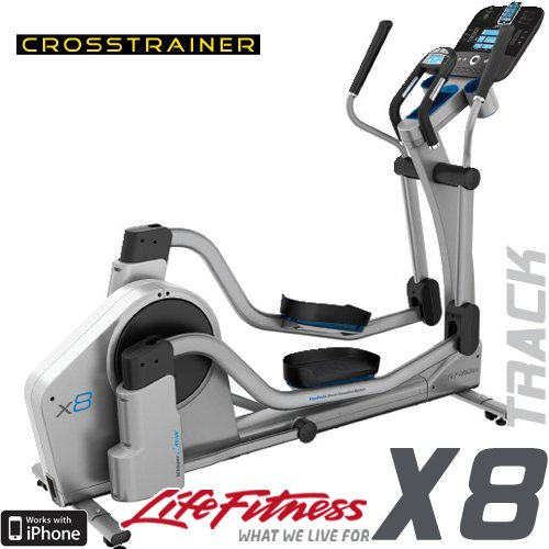 life fitness elliptical x8 track