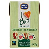 Menz & Gasser Bio Confettura Extra Monodose Assortita - 10 Confezioni da 80 g
