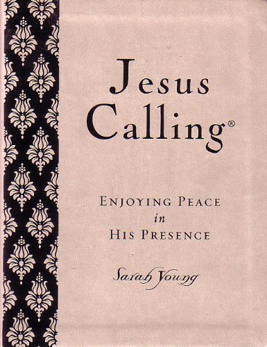 Price comparison product image Jesus Calling,  Enjoying Peace in His Presence (Cream Color)