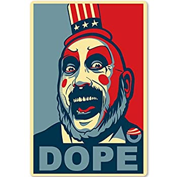 ABMOS Captain Spaulding s Metal Tin Sign- Colorful Dope- Vintage Movies Poster Home Office Bar Restaurant Coffe Garage Wall Decor Plaque 12X17 Inch