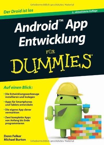 Android App Entwicklung fur Dummies (F?r Dummies) by Gerhard Franken;Michael Burton(2013-04-10)