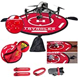 Big Weighted OR Anchored Drone Landing Pad 30'/75cm...