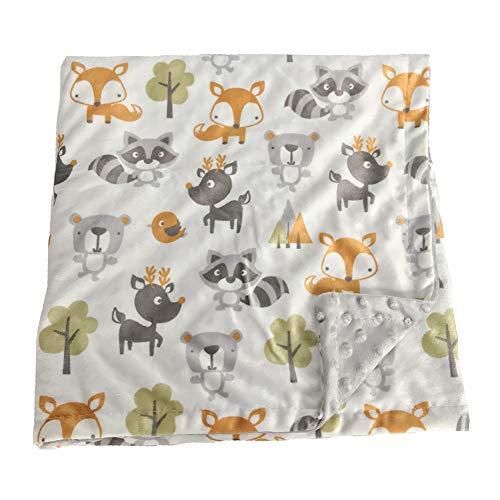 ALLAIBB Baby Mütze Decke Karikatur Flanell Sicherheitsdecke 75cm120cm Size 75 * 120 Fuchs