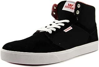 Supra Men's Yorek High Shoes,9.5,Black-White