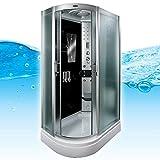 AcquaVapore DTP8060-7310L Dusche Duschtempel Komplett Duschkabine 120x80, EasyClean Versiegelung der Scheiben:Nein! +0.-EUR