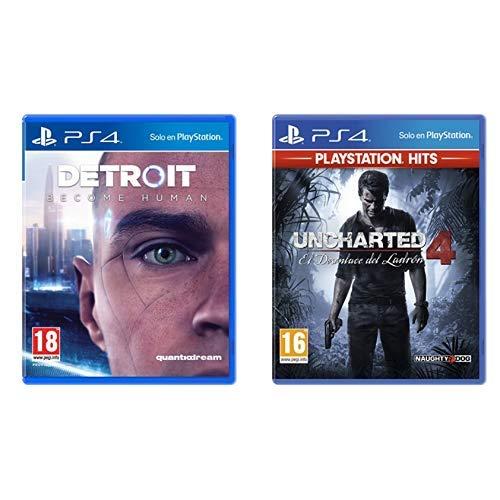 Detroit Become Human - Edición Estándar & El Desenlace Del Ladrón Hits - Edición Uncharted 4, Versión 16