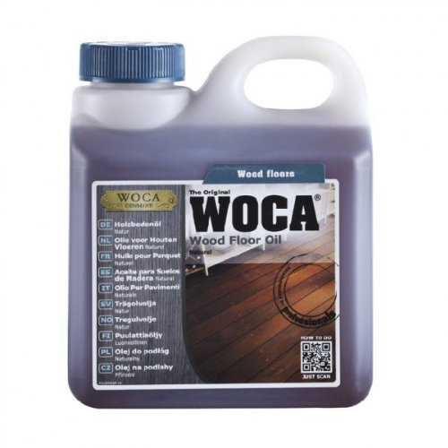 Holzbodenöl Natur 1,0 Ltr. - WoCa Woodcare