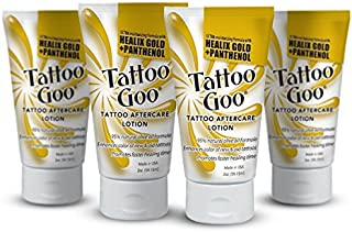 Tattoo Goo The Lotion with Healix Gold Formula Special - Four (4) Lotions by Tattoo Goo